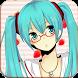 Hatsune vocaloid Miku Wallpaper by evergo Dev