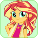 Live Wallpapers Sunset Shimmer Style by boubow apps