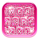 Pink Glitter Keyboard by Girly Apps