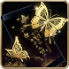 Gold Butterfly Live Wallpaper by HD Live Wallpaper 2017