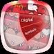 Sweet Loving Heart GO Keyboard by 360 Fractal