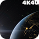 4K Space view of Earth Video Live Wallpaper