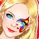 Princess Makeup Face Painting by Fizizi