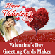 Valentine's Day Greeting Cards Maker To Show Love by stickers photo editor