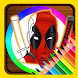 Coloring Book For Super Heros by Coloring For Relax