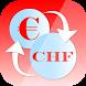 Euro Swiss franc Converter CHF by Egea App Design
