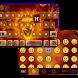 Fire Lion Emoji Keyboard Theme by Best Keyboard Theme Studio