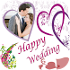 Wedding Card Frame by PhotoMaker