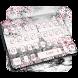 Pink Rose Paris Keyboard by Keyboard Tema Designer