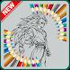 Best Coloring Game for Kids of Super Saiyan