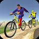 Offroad Superhero Cycle Racing