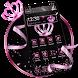 Pink Glitter Crown Theme