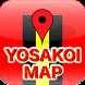 よさこいマップ by J.M.D.C