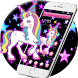 Rainbow Cute Unicorn Twinkle Stars Theme by Fabulous Theme Wallpapers