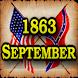 1863 Sept Am Civil War Gazette by Vinyard Studios