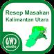 Resep Masakan Kalimantan Utara by GWC Studio