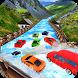 Water Slide Real Car Racing by Subway Seasons