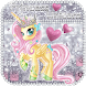 Cute Princess Unicorn Keyboard by The Best Android Themes