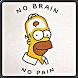 Homer Wallpaper by SDN Brotodipuran