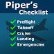 Piper's Checklist by Tambucho