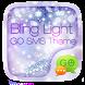 GO SMS PRO BLING LIGHT THEME by ZT.art