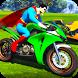 Superheroes Bike Stunt Racing Games by Let's Game