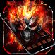 Horror Skull Theme Fire Skull