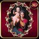 Virgin Mary Crimson 3D Next Launcher theme by spikerose