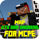 Map GTA San Andreas for MCPE by Major Mods