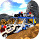 OffRoad Police Transport Trailer Truck by Magnet Mind Studios