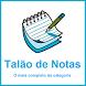 Talão de Notas Força de Vendas by HELPVALE