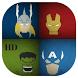 SuperHeroes Wallpaper HD App by A profesional designer
