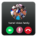 Fake Call Funnel Vision Family Prank by PrangMedia