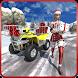 Santa Claus Gift Girl: Atv Quad Christmas Driver by Rushs Games