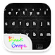Emoji Keyboard - Black Grape by WaterwaveCenter