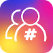 Tags followers for Instagram by Winnie Apps Studio
