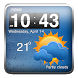 Cool Weather Clock Widgets by Best Widgets Apps