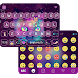 Galaxy Cat Emoji KeyboardTheme by Best Keyboard Theme Studio
