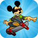 Mickey Skater Adventure by step.app