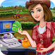 Little Farm Store Cash Register Girl Cashier Games by Crazy Games Lab