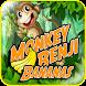 Monkey Benji Bananas by Sumarson
