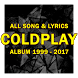 Coldplay: Song Lyrics All Albums by sevenohan