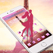 Pink Eiffel Tower Love by New themes