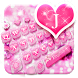 Pink Bow Tie Lace Keyboard Theme by Enjoy the free theme