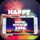 Fireworks bang New Year by simox