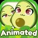 Avocado Emoji Pack for SMS Plus