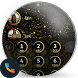 Gold Stardust Dialer Theme by Themes Messages Contacts Dialer by Double L