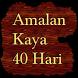 Amalan Kaya 40 Hari by BoyDroid