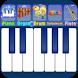 Blue Piano by Bilkon