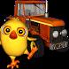 El Pollito Pio y el Tractor 3D by efecto3D